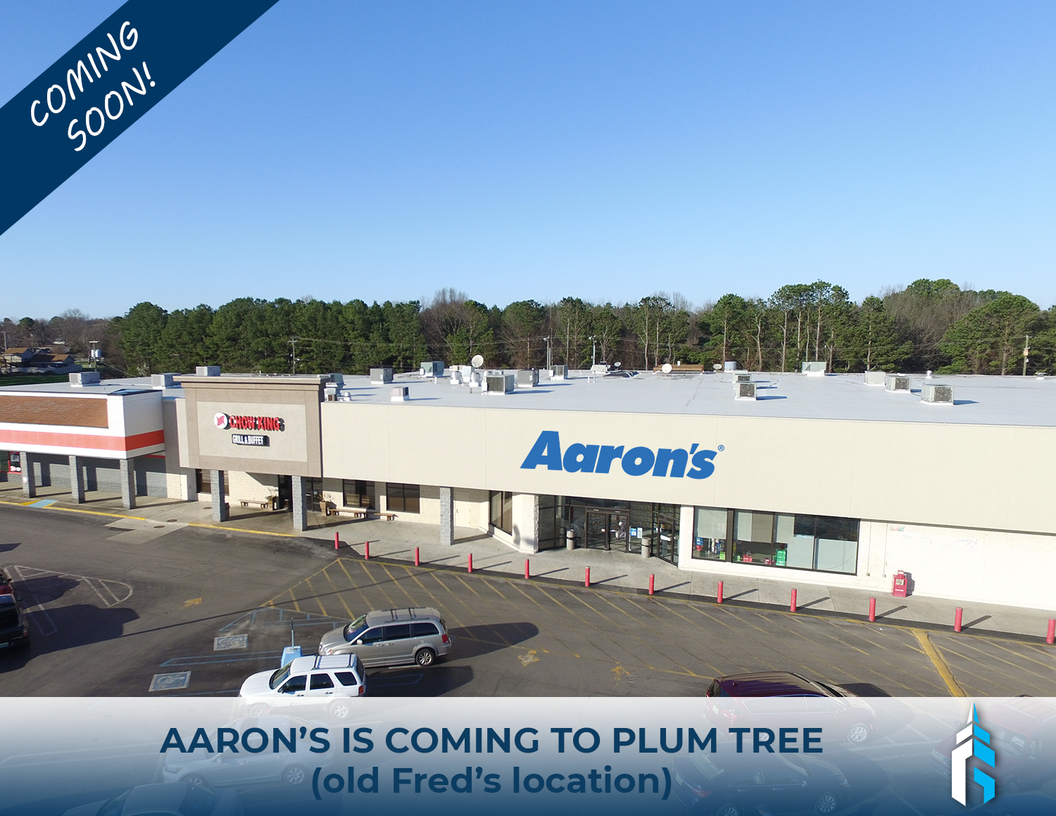 Aarons coming to Plum Tree